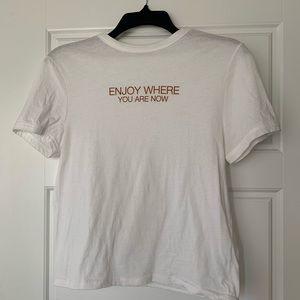 ZARA White T-Shirt